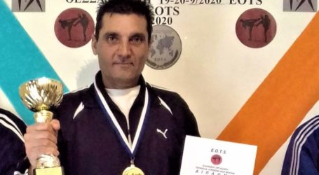 Xρυσό μετάλλιο  ο Ανδρέας  Κεχαγιάς στο Πανελλήνιο πρωτάθλημα