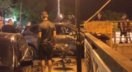Πώς έγινε το πρωτοφανές τροχαίο στη γέφυρα του Αλκαζάρ στη Λάρισα