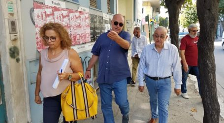 Βόλος: Αυτοψία Μπέου στην οδό Κ. Καρτάλη – Δημιουργείται διαδρομή ΑΜΕΑ [εικόνες]