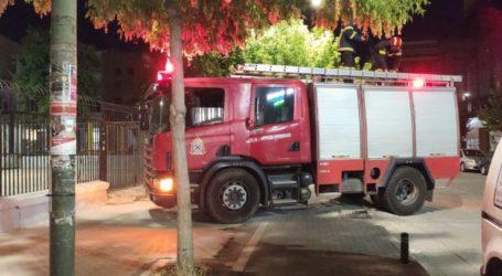 Λάρισα: Κινητοποίηση της Πυροσβεστικής για παιδάκι που σκαρφάλωσε σε μεγάλο ύψος (φωτο)