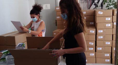 Λάρισα: Παραλαβή μασκών για τα σχολεία την Κυριακήαπο το Χατζηγιάννειο