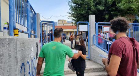 Μοίρασαν φυλλάδια κατά της ρύπανσης σε σχολεία του Βόλου