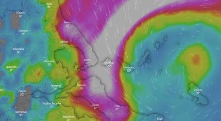 Χαλάει ο καιρός από αύριο – Τι φέρνει στη Μαγνησία ο μεσογειακός κυκλώνας