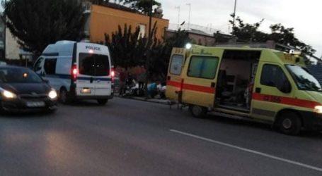 Λάρισα: Τροχαίο στην οδό Φαρσάλων – Δύο τραυματίες στο νοσοκομείο (φωτο)