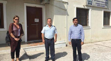 Συνάντηση με τον Δήμαρχο Θοδωρή Τζούμα  είχε ο νέος Διοικητής του Α.Τ Σκιάθου Γρηγόρης Ακρίβος