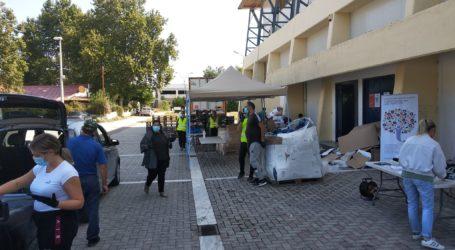 Νέα διανομή τροφίμων για τους δικαιούχους του Προγράμματος ΤΕΒΑ στο δήμο Τυρνάβου