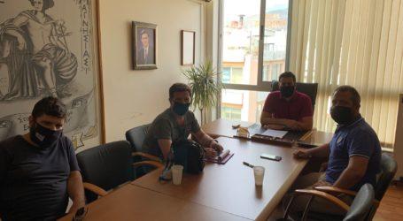Ο Αλ. Μεϊκόπουλος στον Εμπορικό Σύλλογο Βόλου