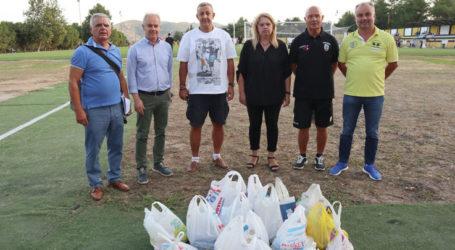 Τρόφιμα στο Κοινωνικό Παντοπωλείο του δήμου Τεμπών