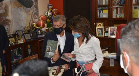 Γιάννα Αγγελοπούλου – Δασκαλάκη: Είμαι πανευτυχής που είμαι στη Λάρισα: Οι Έλληνες θα προχωρήσουμε με αυτοπεποίθηση και περηφάνια ( βίντεο – φωτο)