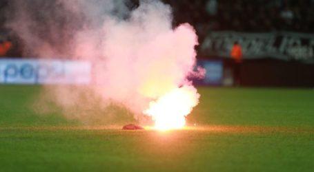 Αλμυρός: Συνελήφθη με φωτοβολίδα στο γήπεδο