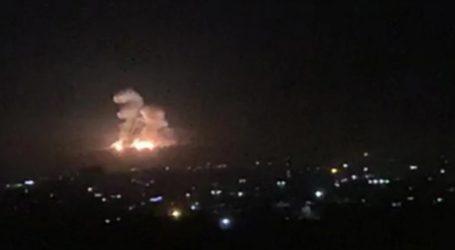 Βίντεο με την έκρηξη ισραηλινού πυραύλου στη Δαμασκό
