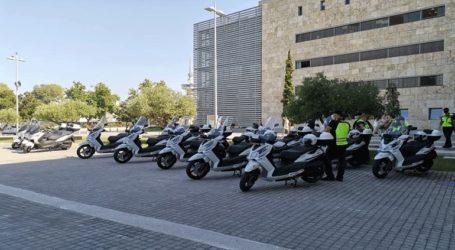 Με 13 υπερσύγχρονα σκούτερ ενισχύονται Δημοτική Αστυνομία και Πολιτική Προστασία