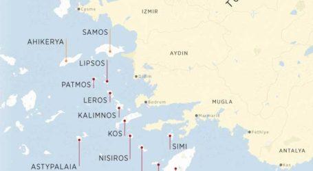 Ελληνικά νησιά στο στόχαστρο της Άγκυρας