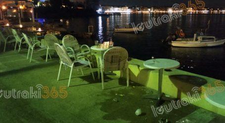 Λουτράκι: Μεθυσμένος οδηγός πέρασε ξυστά από τραπέζια καφετέριας