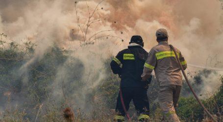 Υπό μερικό έλεγχο η πυρκαγιά στην περιοχή Ξηρόκαμπος του Δήμου Αρχαίας Ολυμπίας