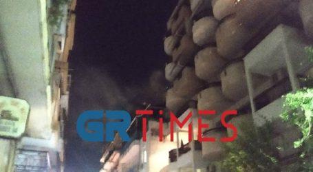 Φωτιά σε διαμέρισμα στο κέντρο της Θεσσαλονίκης