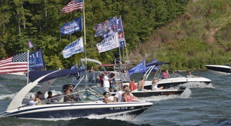 Βυθίστηκαν σκάφη της εκστρατείας του Τραμπ στο Τέξας