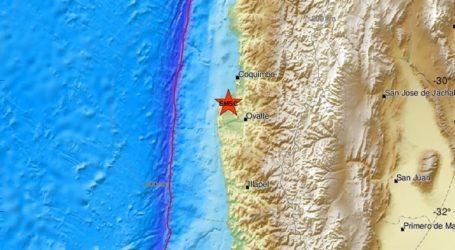 Σεισμική δόνηση 6,2R στη Χιλή