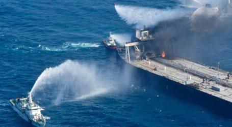 Σρι Λάνκα: Κατασβέστηκε η φωτιά που είχε ξεσπάσει σε δεξαμενόπλοιο