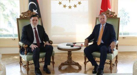Ο Ερντογάν συναντήθηκε με τον επικεφαλής της Κυβέρνησης Εθνικής Ενότητας της Λιβύης
