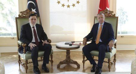 Ο Ερντογάν ανανέωσε την υποστήριξή του στην κυβέρνηση της Λιβύης