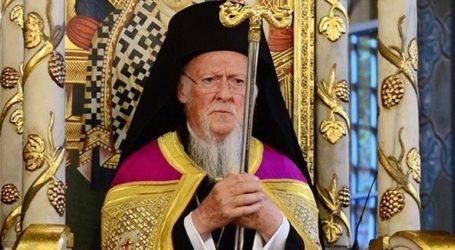 Οικουμενικός Πατριάρχης: «Υπομένουμε και προσευχόμεθα»