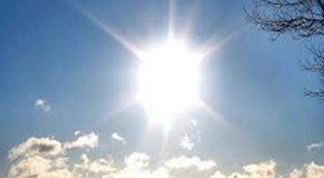 Υψηλές για την εποχή θα είναι οι θερμοκρασίες και αυτή την εβδομάδα