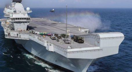 Σε «καραντίνα» το Βρετανικό αεροπλανοφόρο HMS Queen Elizabeth