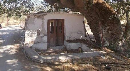 Κατέστρεψαν ολοσχερώς εκκλησάκι στη Μόρια