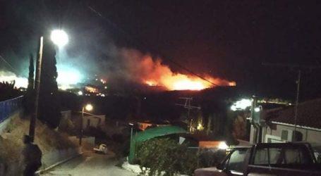 Εξέγερση και φωτιά στον καταυλισμό της Μόριας
