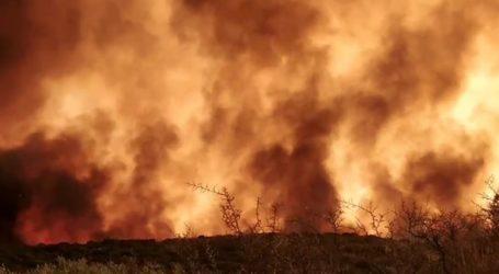 Σε εξέλιξη νέα πυρκαγιά κοντά στο Λαύριο
