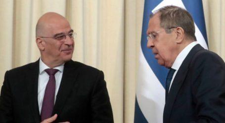 Επικοινωνία Ν. Δένδια με τον υπουργό Εξωτερικών της Ρωσίας