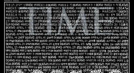 Το συγκλονιστικό εξώφυλλο του Time για τους 200.000 νεκρούς