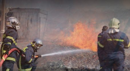 Υπό έλεγχο η πυρκαγιά στον Ασπρόπυργο
