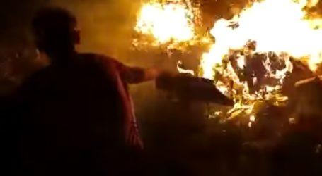 ντοκουμέντο: Έτσι έβαλαν τη φωτιά στη Μόρια