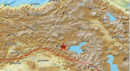 Σεισμός 4,7 ρίχτερ στην Ανατολική Τουρκία