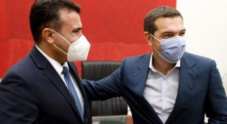 Συνάντηση Τσίπρα – Ζάεφ για τη σημασία της συμφωνίας των Πρεσπών