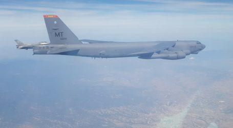 Ελληνικά F-16 συνοδεύουν αμερικανικά βομβαρδιστικά B-52