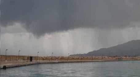 Ξεκίνησαν οι πρώτες ισχυρές βροχοπτώσεις στη Ζάκυνθο