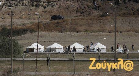 Μυτιλήνη: Ακόμα 2.000 πρόσφυγες στη δομή του Καρά Τεπέ