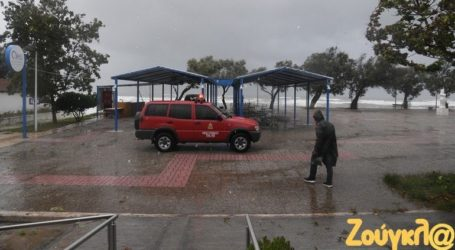 Μικρής έκτασης ζημιές σε Κατάκολο, Ανδραβίδα και Λεχαινά από την κακοκαιρία