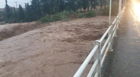 Βόλος: Αγωνία να μην σπάσει λιμνοδεξαμενή και πλημμυρίσει ο Αλμυρός