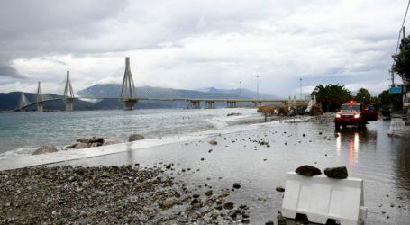 Σταδιακή αποκατάσταση των ζημιών στην παραλιακή του Ρίου