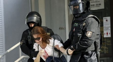 Συλλήψεις δεκάδων διαδηλωτών στο κέντρο του Μινσκ