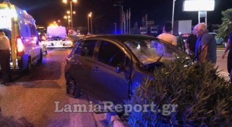 Δύο τραυματίες σε τροχαίο στη Λαμία