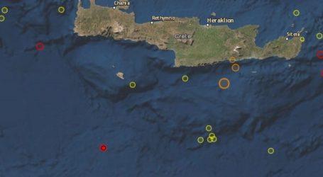 Νέα σεισμική δόνηση 3,7 R στην Κρήτη
