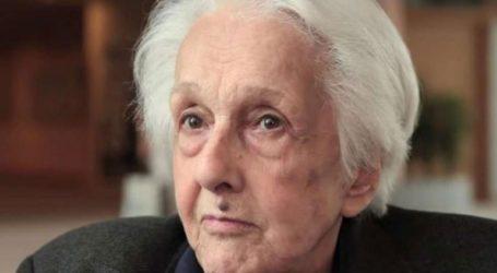 Πέθανε σε ηλικία 96 ετών η Ροσάνα Ροσάντα, εμβληματική προσωπικότητα της ιταλικής Aριστεράς