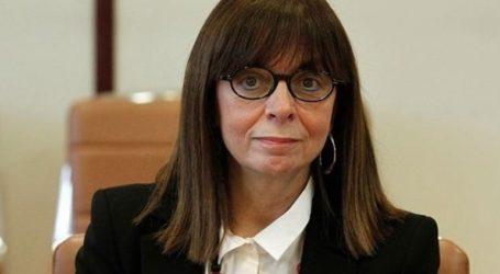 Στην Κύπρο η Κατερίνα Σακελλαροπούλου