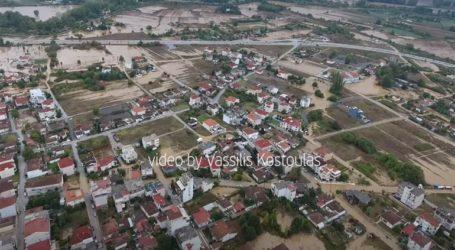 """Εικόνες """"Αποκάλυψης"""" στην Καρδίτσα – Βίντεο από ψηλά"""