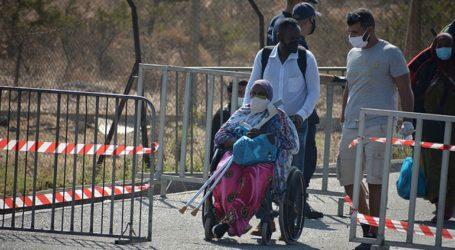 243 τα κρούσματα κορωνοϊού στους μετανάστες στη Μυτιλήνη